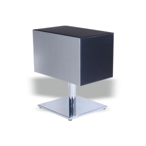 Bee II Reception Desk Silver