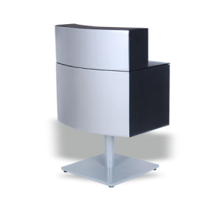 Bee Reception Desk Silver